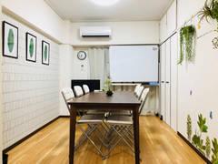 【博多駅すぐ】テレビ冷蔵庫のあるレンタルスペース。