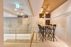 【心斎橋から徒歩圏内】四ツ橋、西大橋駅からすぐ!完全個室!大型モニター、Wi-Fi、コーヒー、お水すべて無料♪おしゃれで落ち着いた空間 ACTBE Horie 会議室Aの写真