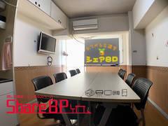 Share8P『カストル』NTT光、テレビ、ホワイトボード、加湿空気清浄器標準装備 テレワーク応援プラン有り 壁掛けエアコン ミニ冷蔵庫 ミニプロジェクター