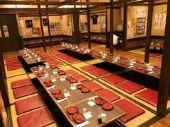 【新宿】最大80名着席可/大人数での打ち合わせ・会議・研修・懇親会に/無料WiFi完備/『新宿 樽一本店』