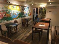 壁画のあるアートなカフェです。パーティ、商談会、撮影会等に!!の写真