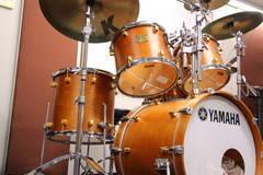 【新橋駅すぐ/防音】好きなだけドラムを叩こう。メイプルドラムの部屋【ヤマハの音楽室・銀座アネックス L2】の写真