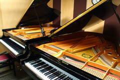 ※期間限定キャンペーン価格※【新橋駅すぐ/防音】グランドピアノが2台ならぶ部屋【ヤマハの音楽室・銀座アネックス M3】