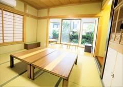 リフォーム済みの料亭・旅館のような平屋、日本家屋で会議・研修・ロケ撮影・ママ会女子会・料理教室してみませんか?和室・洋室・ダイニング、どちらのスペースもご利用頂けます。新宿駅からタクシーでも1,000円以下な好立地 渋谷からもバスあり!1軒屋丸々お貸しします♪