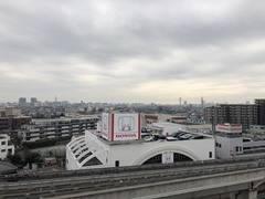 日暮里舎人ライナー江北駅より徒歩10秒!開放的なマンション屋上!