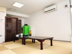 割引プランあり! 清潔な和室仕様の個室スペース ミッション神田