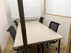【会議室:4名】福岡 西鉄 薬院駅 直結!ミーティングスペースやお打ち合わせ等で利用可能!