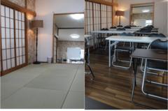 神楽坂の和室と洋室の中会議室/大姿見も完備!着付け教室にも(18名迄)