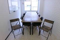 【割引プラン開始/上野の定番会議室】社外の会議にはキレイで静かなスペースをご利用ください。ビジネスに最適!JR上野駅から徒歩1分!Wi-fi、プロジェクター、スクリーン、接続コード完備!