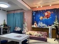 Wi-Fi光10ギガ採光南向◎動画撮影/クリスマス#ヒラキタGoburin【南巽】24h 防音 ゲーム  撮影 楽器演奏