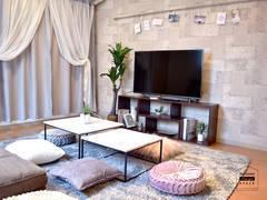 ⭐モネ京橋サリュ⭐自宅のようにくつろげるお部屋⭐パーティ、ママ会、ゲーム会など⭐テレワーク、TV会議⭐