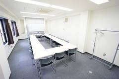 ✨OPEN SALE✨<ゼネラル会議室>22名収容♪浜松町駅徒歩5分♪wifi/プロジェクタ無料