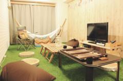 Chill City House 下北沢|芝生&ハンモックでおうちグランピング&ボードゲーム