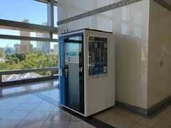 【テレキューブ】横浜ランドマークタワー プライベートな空間で集中できる1人用の個室型ワークスペース(06-01)