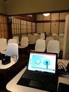 浅草古民家カフェセミナールーム 屋根裏付き企業様のセミナータイプの研修から和風カフェとしての料理実習なども合わせて対応が可能です。