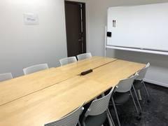 群馬県高崎、レンタルオフィス、第3会議室8席 (1~8名)