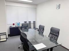 アクリルバーテーション設置、wifi無料、高級感あり!商談、契約、面接、会議に最適!
