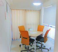 【706号室/Room ORANGE】完全個室で会議、レッスン等多目的なご利用が可能なスペース!ホワイトボード完備!※現在Wi-Fi利用不可