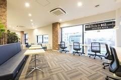 【センター北駅徒歩1分・プレミアヨコハマ3F】コワーキングスペースの8名用会議室