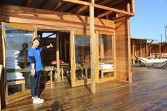 夕日の綺麗な一望のVIPルームを完全貸切!南国風のおしゃれ施設