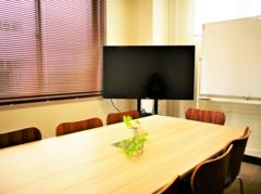 【恵比寿駅1分】モニターでWeb会議もできる中会議室(8名)