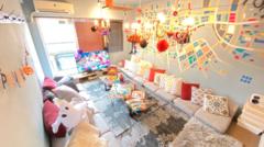 推し会 誕生日会渋谷5分WiFi50型TV#ドドGoburin【道玄坂/渋谷】YouTuber/Netflix/タコパ