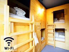 テレワーク・コワーキングに最適♪客室スペース!有線LAN、無料WIFI、電源、冷暖房完備!共用簡易キッチンも利用可!