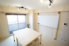 【西新宿駅1分】木のぬくもりスペース 3F きつね分室【Wi-Fi・ホワイトボード・プロジェクタ完備】