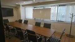 【新宿西口駅・大久保駅】ワークメディ会議室A キレイ!広い!10人でもでもゆったり使える会議室です!