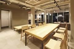 浅草駅徒歩6分の好立地オープンラウンジ!最大6名利用可能のイベントスペース
