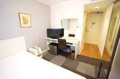 <ミニマルワークスペース新大阪No.5>ニューオーサカホテルの1室♪Wi-Fi無料/テレワーク/Web会議