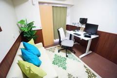 <ひふみミニマルオフィス603>オシャレな完全個室✨モニター/キーボード/Wi-Fi!テレワーク/リモートワーク/オンライン面接/面談/授業/会議/ウェビナー