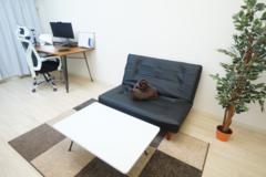 ✨光回線導入!✨<新大阪ミニマルオフィス>完全個室✨モニター/ソファー/Webカメラ完備!テレワーク/Web会議/面接