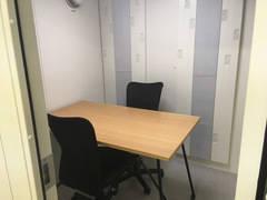 【完全個室 l ZOOM会議やリモートワーク最適環境】ワンコイン会議室半蔵門 防音個室(2名収容)