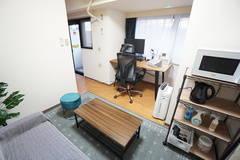 <大山ミニマルオフィス>完全個室✨モニター/高速光Wi-Fiあり!テレワーク/リモートワーク/Web会議,面接
