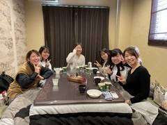【おこた付き完全個室♪】女子会、オフ会、グループのご利用に最適!お鍋やホットプレートの貸し出しできます♪