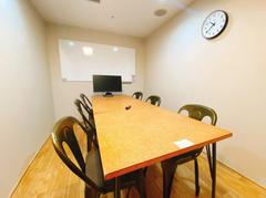 【会議室1】有楽町駅 徒歩1分/ミーティングスペース(6名)