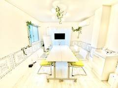 <恵比寿南会議室>完全個室✨Wi-Fi/リングライトあり!リモートワーク/会議/撮影/Web会議
