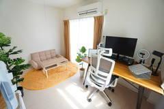 <藤沢ミニマルオフィス>完全個室✨モニター/Wi-Fiあり!テレワーク/リモートワーク/Web会議,面接/撮影