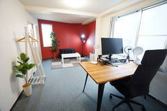 <柏ミニマルオフィス>完全個室✨モニター/Wi-Fiあり!テレワーク/リモートワーク/Web会議,面接/撮影