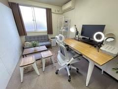 ⭐️光回線導入!⭐️<大阪福島ミニマルオフィス>完全個室✨モニター/Wi-Fiあり!テレワーク/リモートワーク/Web会議,面接