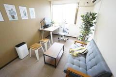 ⭐️光回線導入!⭐️<大阪福島ミニマルオフィス>完全個室✨モニター/Wi-Fiあり!テレワーク/リモートワーク/Web会議,面接/撮影