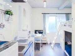 JR高田馬場駅徒歩圏内! 机・椅子・トイレ完備♪完全個室!WIFI高速・無制限