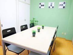 【柏駅5分!10名利用可!】3/31オープン!綺麗な室内!WiFi・プロジェクター・ホワイトボード全て無料!ふれあい貸し会議室 柏C