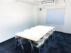 当日予約可能!駅近で気軽にお使いいただける会議室です。内装工事後なので綺麗なスペースで打ち合わせ、会議をして頂けます。
