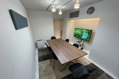 【forspace渋谷本町】和モダン会議室/50型4Kテレビ/高速光回線/毎回清掃の清潔空間