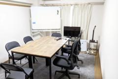ハカドルスペース下北沢|ワークチェア完備でテレワークやビデオ会議、商談に