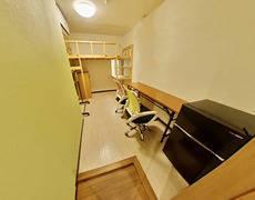新宿早稲田駅「GH早稲田203号完全個室」。在宅勤務応援。コロナウイルス対策。