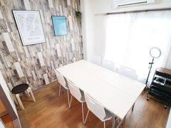 【横浜駅5分!8名利用可!】綺麗な室内!WiFi・プロジェクター・ホワイトボード全て無料!ふれあい貸し会議室 横浜A
