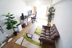 <初台ミニマルオフィス403>完全個室✨モニター/Wi-Fiあり!テレワーク/リモートワーク/Web会議/作業場所